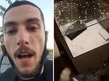 Looter is charged after posting footage on social media of him handing out bombs to throw at cops