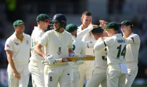 Michael Vaughan and Alastair Cook react as England's top-order collapses in third Ashes Test