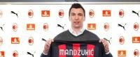 Mandzukic challenges curse of Milan's No.9 shirt