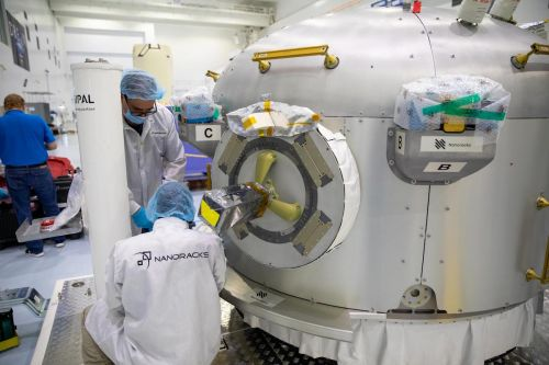 Space station to receive new commercial airlock from Nanoracks