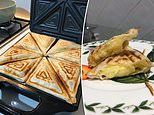 Mum shares how to make vanilla slice toasties using only four ingredients