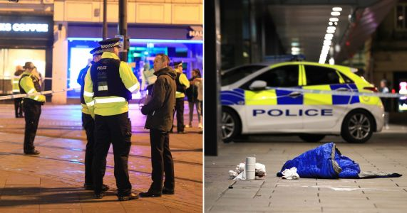 Four injured in Manchester knife attack as man, 30, is arrested