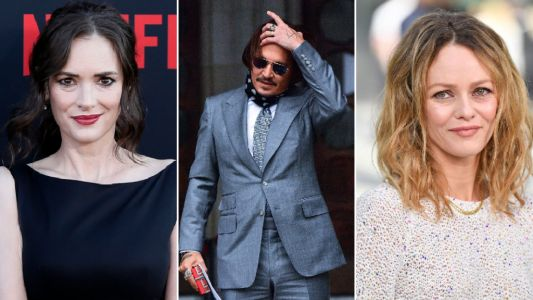 Winona Ryder and Vanessa Paradis dropped from Johnny Depp libel trial