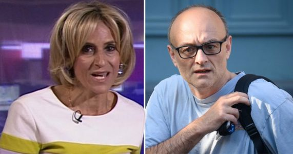 What did Emily Maitlis say about Dominic Cummings and why did she miss Newsnight?