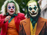 Jennifer Saunders transforms into The Joker for There's Something About Movies
