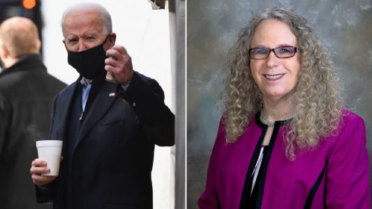 Joe Biden makes history by picking transgender doctor for top government health post