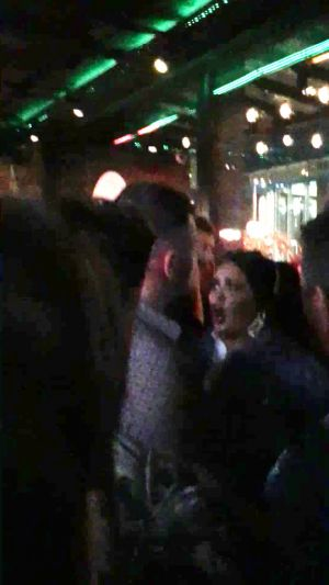 Scarlett Moffatt shouts 'she's f***ing laughing at me' in furious bust-up with reveller as she celebrated 29th birthday