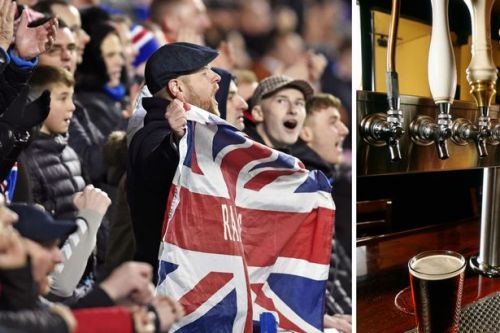 Rangers pub gets green light for young Ayrshire fans to shelter from cold on matchdays