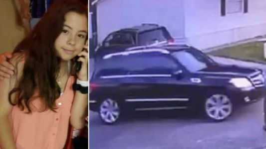 Girl, 13, vanishes on way to school after getting into stranger's car