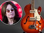 Ozzy Osbourne offers a $25,000 reward for the return of his late friend's stolen guitars