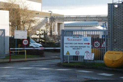 Police bomb squad at 'ongoing incident' at Covid vaccine industrial estate