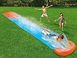From sprinklers to slides: Eight garden water toys to keep your kids entertained this summer
