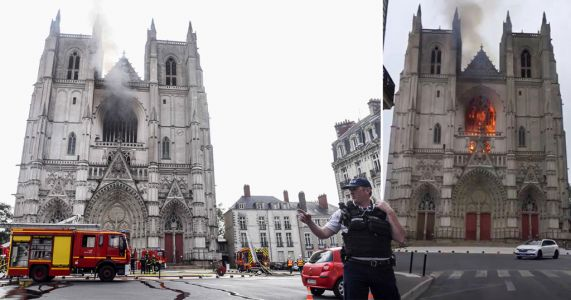 Church volunteer admits setting Nantes cathedral on fire