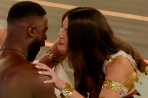 Love Island's new girl Rebecca kisses Mike in dramatic first look