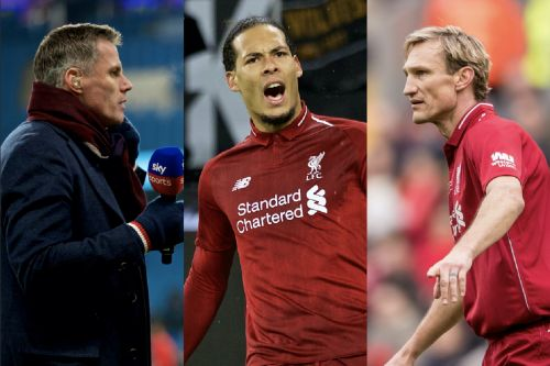 Jamie Carragher and Sami Hyypia are both saying the same things about Virgil van Dijk