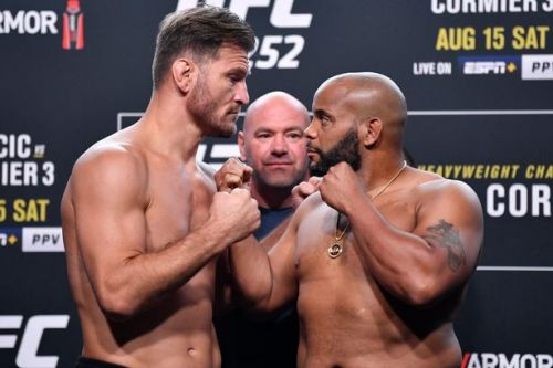 UFC 252 Cormier vs Miocic UK start time, TV channel and live stream