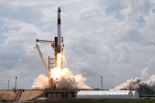 SpaceX to launch rocket tomorrow following historic astronaut mission