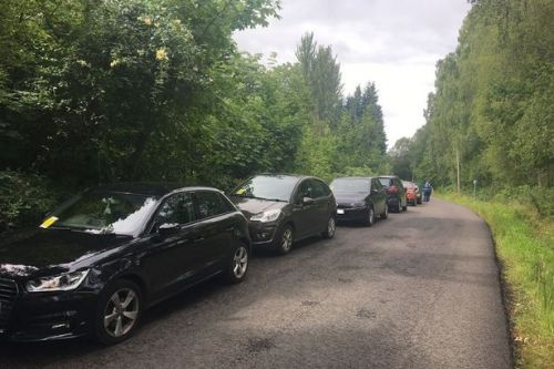 Police fine 70 illegal and 'dangerous' drivers who dumped cars near Loch Lomond