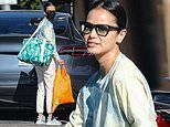 Jamie Chung keeps it casual cool in white ensemble as she heads out on grocery run in West Hollywood