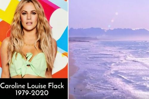 Love Island's Iain Stirling breaks down in emotional tribute to Caroline Flack as viewers are left 'in tears'