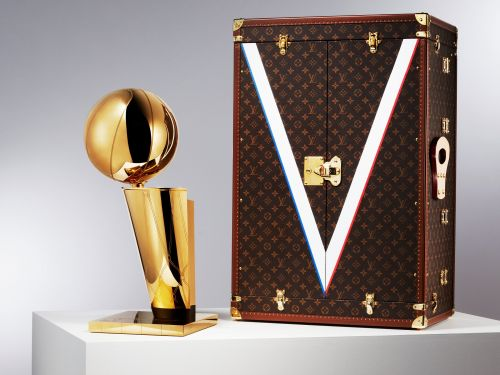 The NBA and Louis Vuitton just announced a multiyear partnership that includes an LV-branded trophy case and a capsule collection designed by Virgil Abloh