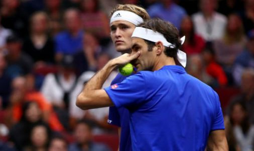 Roger Federer and Alexander Zverev in row at ATP Finals. Novak Djokovic involved