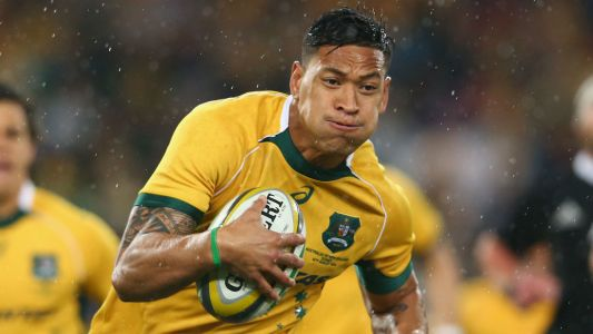 Israel Folau: Australian rugby star condemned for linking bushfires to 'sinful' homosexuality
