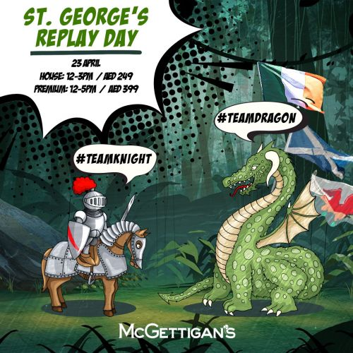 Gloves Off: A St. George's Dragon Fight Is Happening At McGettigan's This Friday!