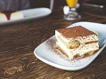 Two portions of TIRAMISU can put motorists over the drink-drive limit