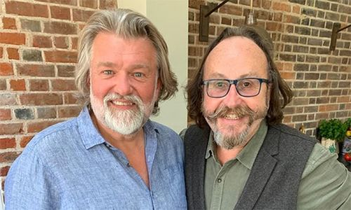 Inside the houses of Hairy Bikers chefs Si King and Dave Myers
