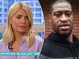 Holly Willoughby is accused of not knowing George Floyd's name as she mispronounces it as 'Lloyd'