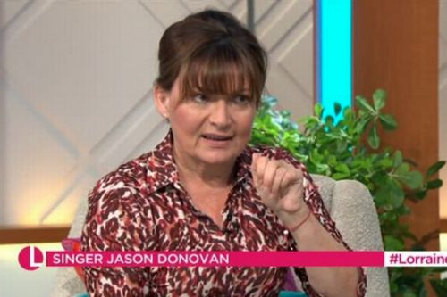 Lorraine Kelly shocks viewers after she swears during live Jason Donovan interview