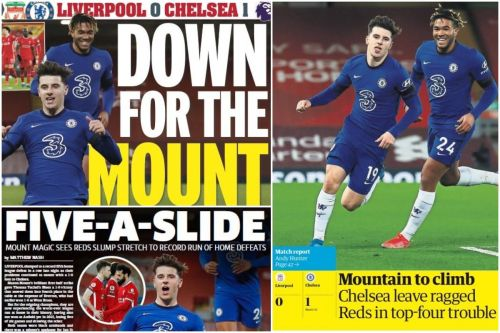 """""""Passive and predictable"""" Reds 'lose their way' - Media on Liverpool 0-1 Chelsea"""