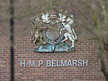 Prisoners are charged with murdering their arsonist cellmate, 36, in high-security Belmarsh prison