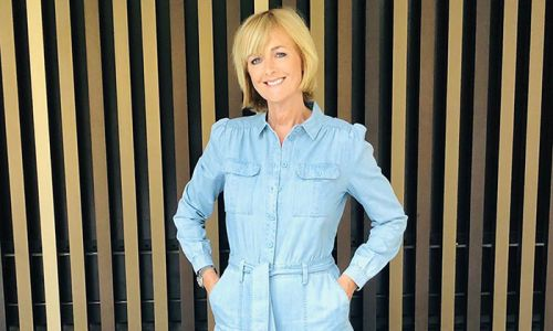 Loose Women's Jane Moore rocks a denim jumpsuit - and it's royally approved