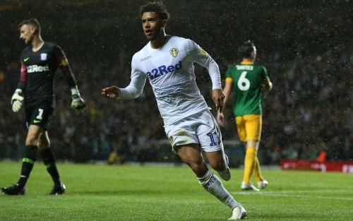 Leeds United teenager Tyler Roberts leads the way with double as league leaders brush aside Preston North End