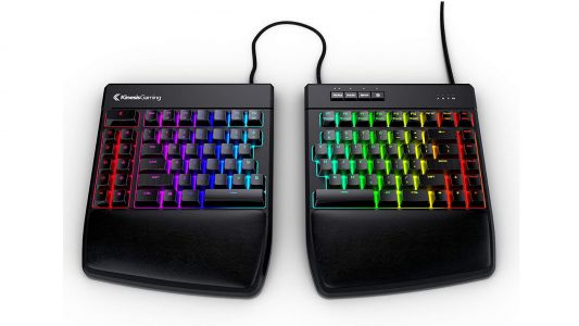 This Kinesis gaming keyboard is perfect for LAN events, and it's on sale!