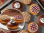 Krispy Kreme is celebrating Thanksgiving with three new pie-inspired doughnuts