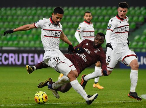 William Saliba's top-20 Ligue 1 stats highlighted following latest Nice clean sheet