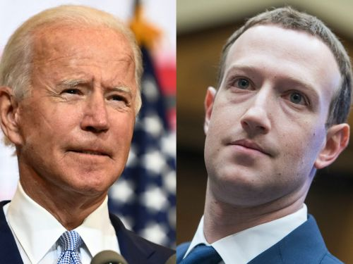 Mark Zuckerberg says Facebook has already asked the Biden administration about helping with the COVID-19 vaccine response
