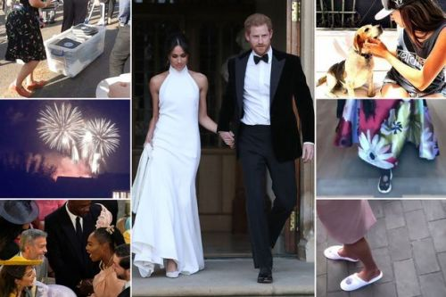 The 'party to end all parties': Every last detail from Meghan and Harry's raucous wedding reception featuring royal dance-off and drinking games