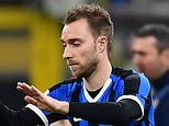 Inter Milan 2-1 Fiorentina: Christian Eriksen comes off the bench to make his debut
