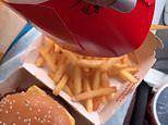 Model shares his ingenious hack for eating McDonald's in a car