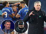 Everton will 'just fall short' of rivals Liverpool in race for top four, insists Jamie Carragher