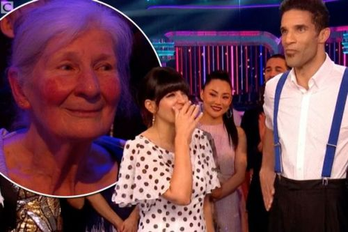 Strictly's Claudia Winkleman apologises to David James after awkward mum blunder