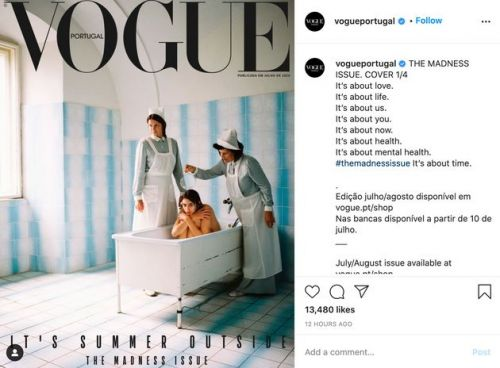 Vogue Portugal Pulls Psychiatric Ward Cover After Backlash