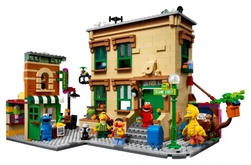 Lego Sesame Street set is for big kids and small adults