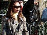 Victoria Beckham is slammed by animal rights activists for carrying £16,000 crocodile skin handbag