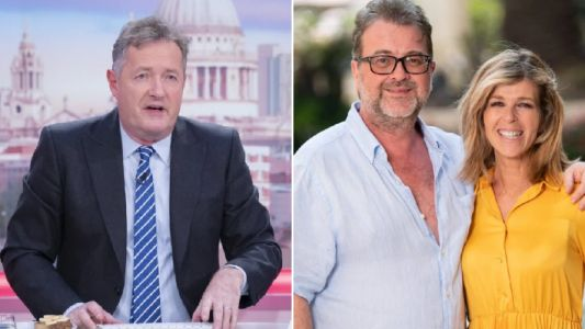 Piers Morgan 'rooting' for Kate Garraway's husband Derek amid coronavirus battle as she shares heartbreaking update