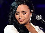 Tearful Demi Lovato forced to restart her comeback performance at Grammys Awards